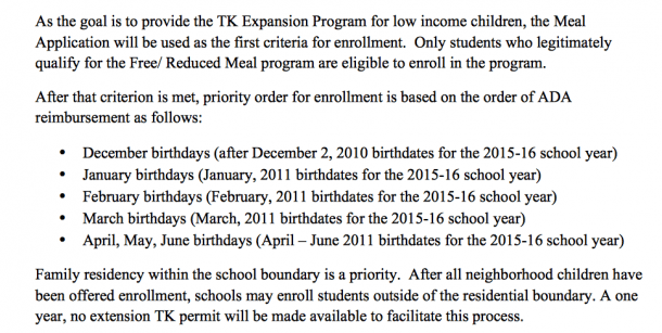Lausd Rolls Out Transitional Kindergarten (tk) Expansion For 2015