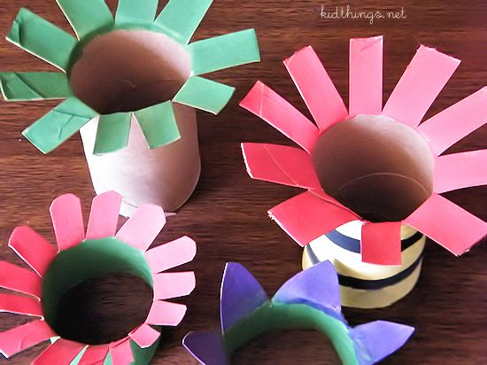 Holiday Themed Toilet Paper Roll Crafts