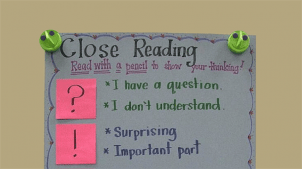 Teach Close Reading With These 10 Ideas