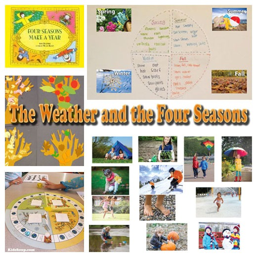 The Weather And The Four Seasons Books And Activities