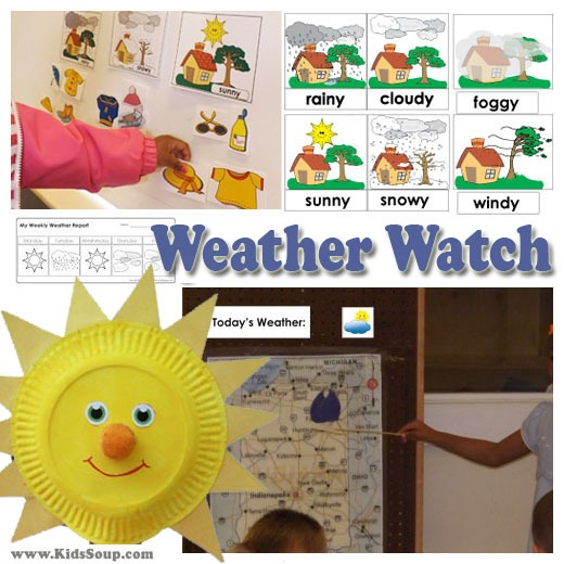 Weather Watch Activities And Games