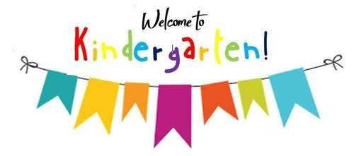 Welcome To Kindergarten Banner Clip Art
