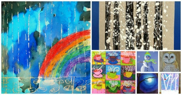 "25 ""celebrate Winter"" Art Projects For Kids"