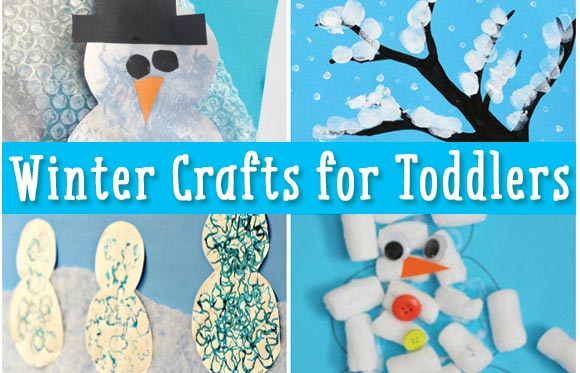 Simple Winter Crafts For Toddlers