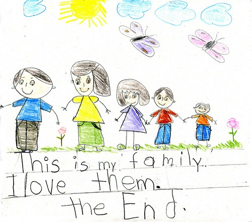 """I Like My Family"""" By Angelica"""