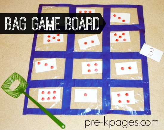 Ziploc Quilt Counting Game