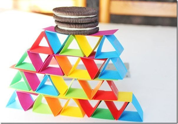 Building With Paper Shapes Stem Activity