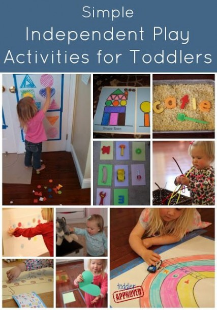 Simple Independent Play Activities For Toddlers