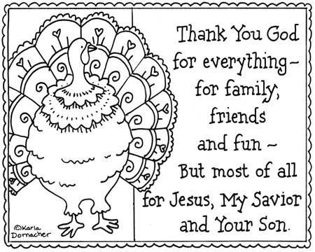 Thanksgiving Coloring Pages For Toddlers