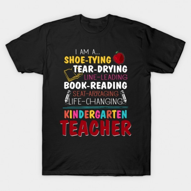 Kindergarten Teacher Shirt For Women