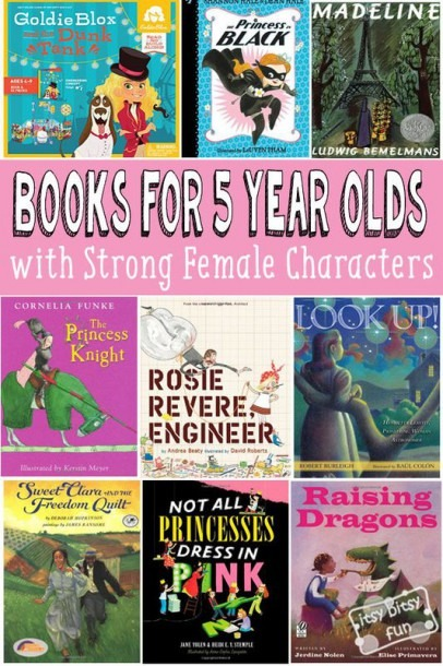 Great Books For 5 Year Old Girls