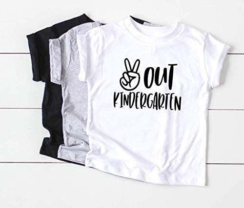 Amazon Com  Peace Out Kindergarten Last Day Of School Shirt