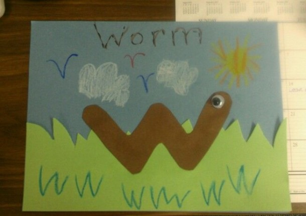 Letter W Project