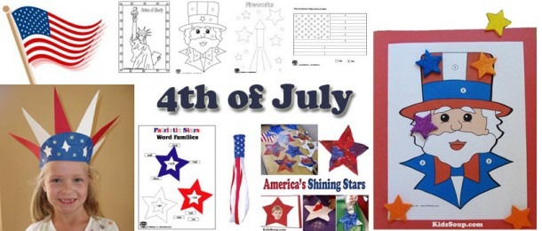 4th Of July Preschool, Kindergarten, And Daycare Crafts