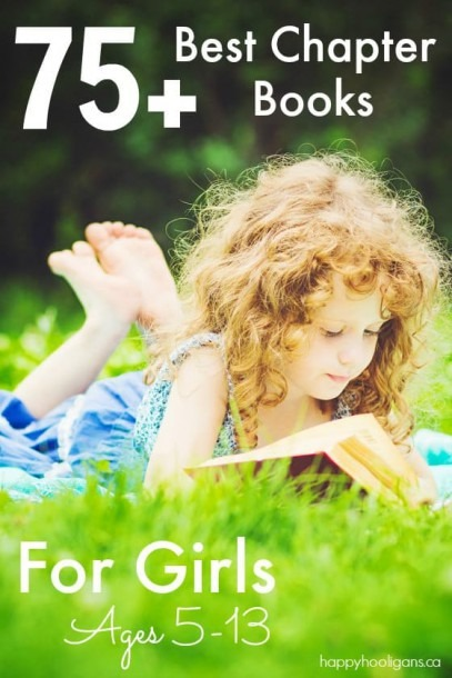 75+ Best Chapter Books For Girls Ages 5