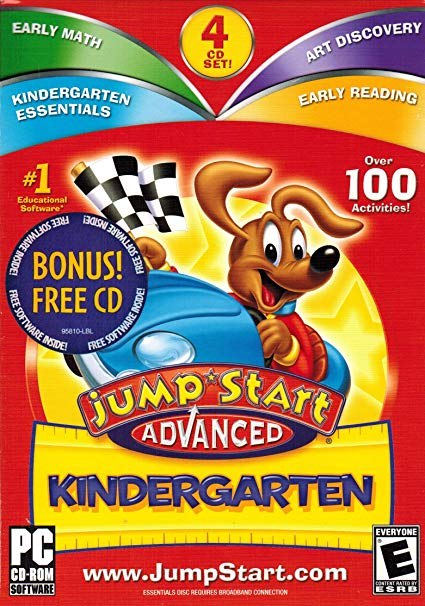 Amazon Com  Jump Start Advanced Kindergarten 3 0 Plus Bonus Cd