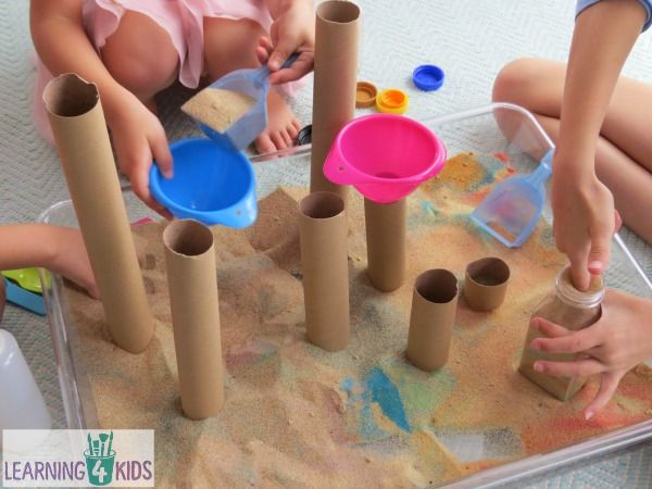 Sensory Exploration With Sand