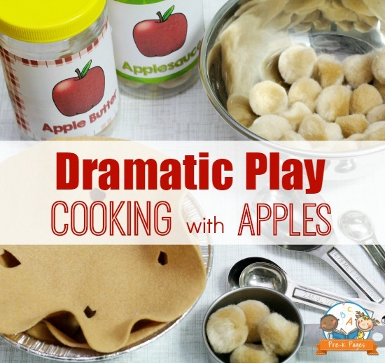 Dramatic Play Apple Activities