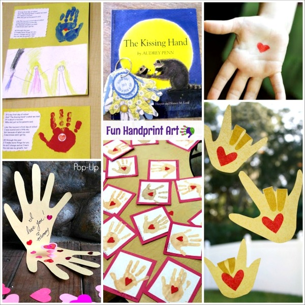Back To School With The Kissing Hand