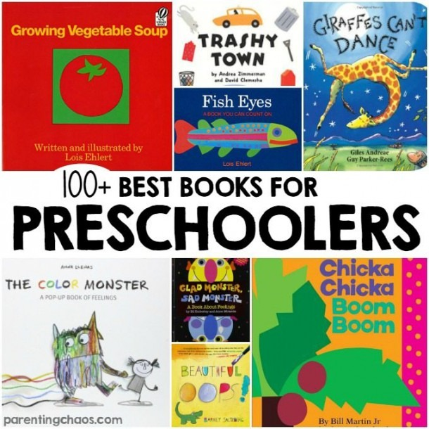 100 Of The Best Books For Preschoolers! ⋆ Parenting Chaos