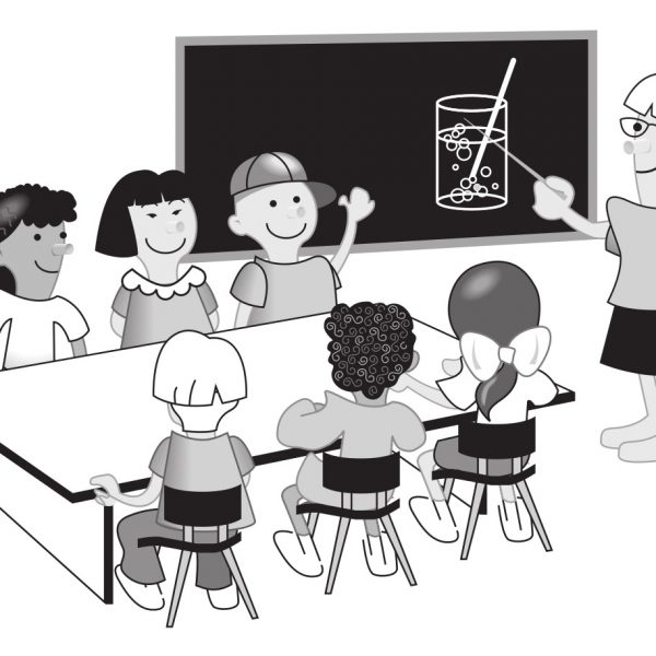 Class Pictures Clipart Black And White Throughout Kindergarten