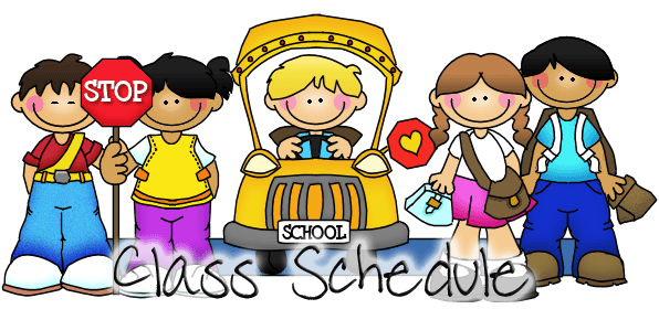 Class Schedule Clipart Clipart Images Gallery For Free Download