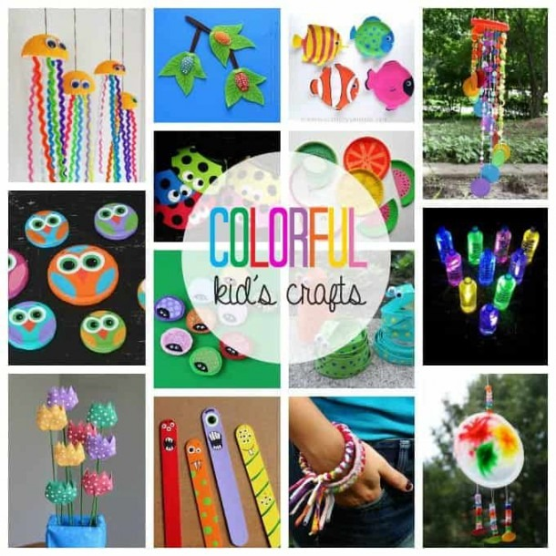Colorful Kid's Crafts
