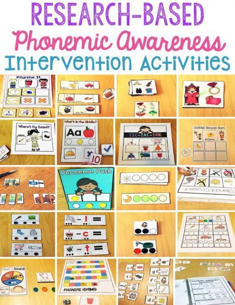 Phonemic Awareness Intervention Pack  Part 2