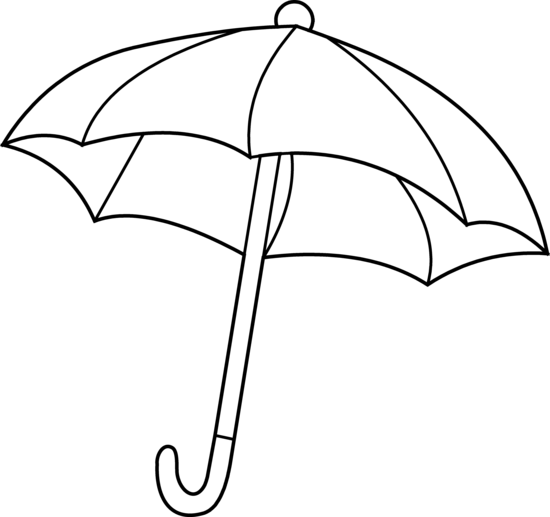 Umbrella Clipart Black And White Free Clipart Images