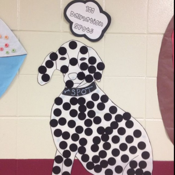 100 Days Of School Ideas Make A Dalmatian Or Cheetah  Image Only