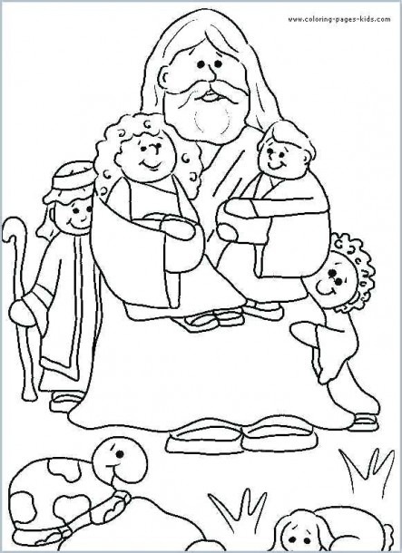 Christian Coloring Pages For Preschoolers – Highfiveholidays Com