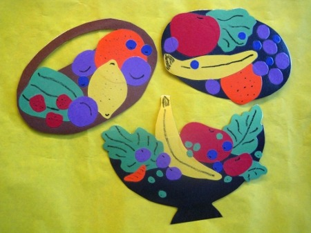 Free Fruit Basket Craft