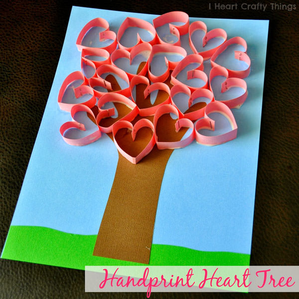 25+ Cute Valentine Crafts For Kids – Onecreativemommy Com