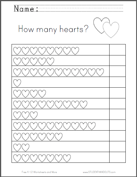 How Many Hearts