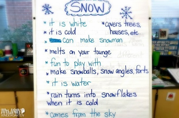 Learning About Snow Lesson Plans For Kindergarten And First Grade