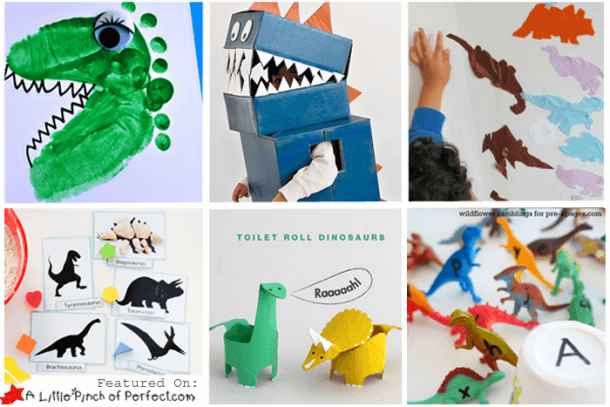 Dinosaur Crafts & Activities For Kids (love To Learn Linky  37)