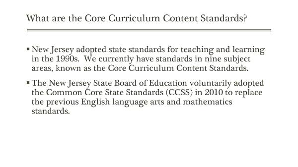Nj Common Core Standards Ela – Trendsvideo Club