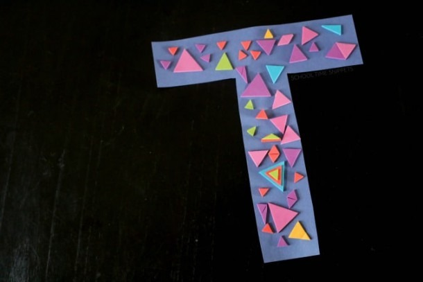 Letter T Crafts For Preschool Or Kindergarten – Fun, Easy And