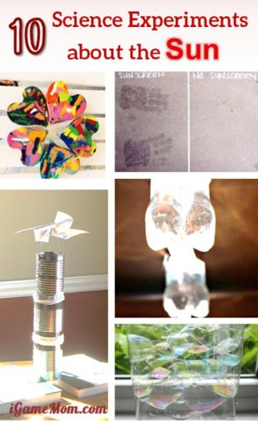 10 Science Experiments For Kids To Learn About Sun