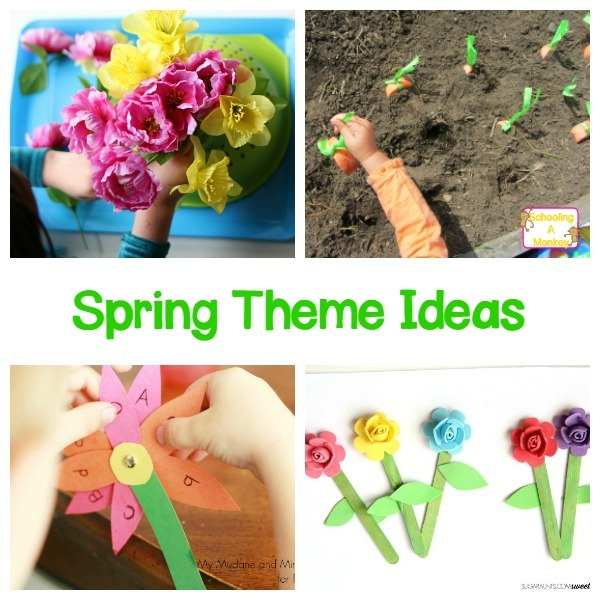 Spring Fine Motor Activities For Toddlers And Preschoolers