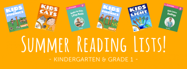 Summer Reading List For Kindergarten And Grade 1