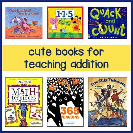 Childrens Books For Teaching Addition