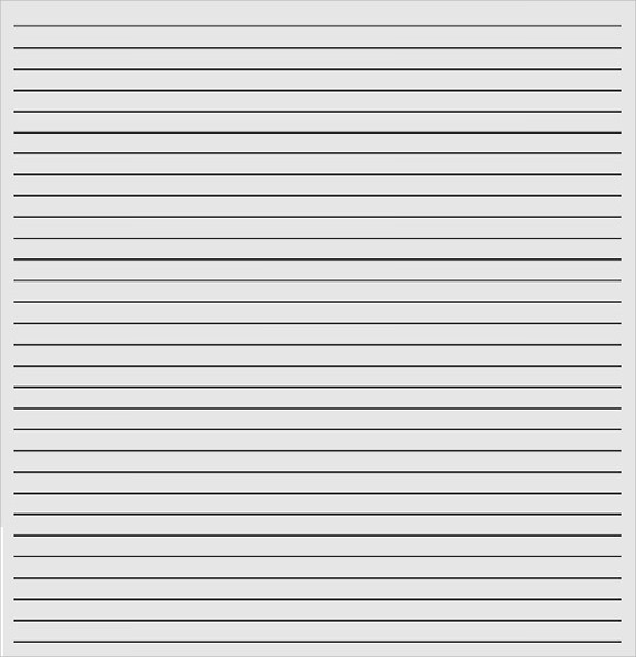Free 11+ Lined Paper Templates In Pdf