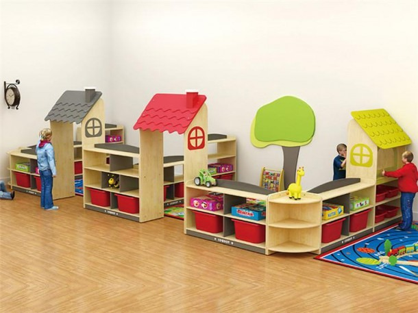 China Kindergarten Toys Cabinets Manufacturers And Factory