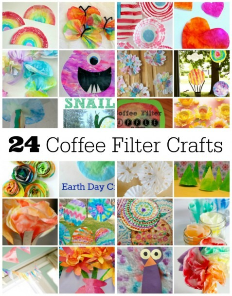 24 Fun Coffee Filter Crafts To Make