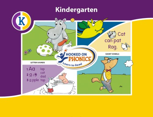 Hooked On Phonics  Learn To Read Kindergarten System  Hooked On