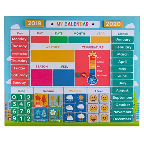 Amazon Com   My First Daily Magnetic Calendar