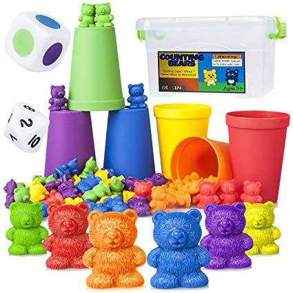 Amazon Com  Counting Bears Early Learning Toy