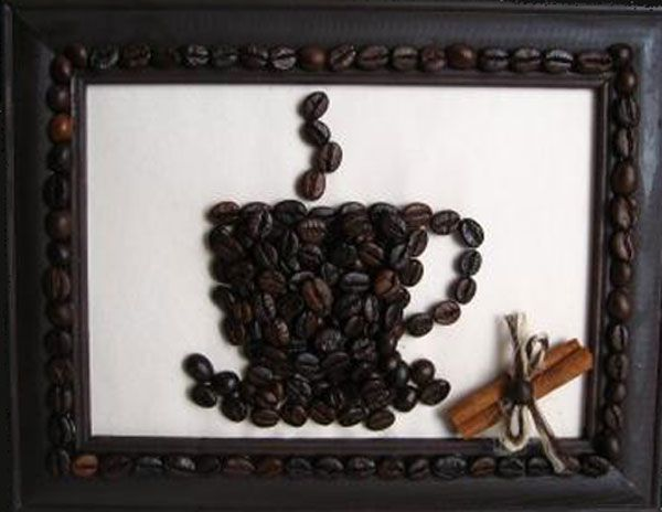 Diy Coffee Bean Decorating Ideas