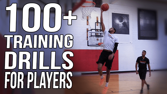 100 Basketball Training Drills For Players